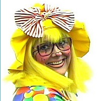 Pepper the Clown childrens party clown entertainers in Toronto Canada